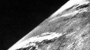 first Earth photo from space