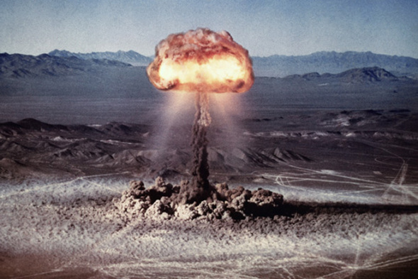 first atomic bomb